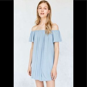 Urban Outfitters Off the Shoulder Swing Dress!! 💕